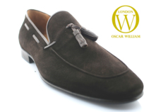 Classic Luxury Men Loafers (Berkeley Square I) Sale Sued Shoes thumbnail image