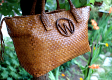 Classic Custom Made English Ladies Handmade Luxury Handbag (Beverley) thumbnail image