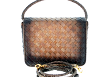 English Classic Handmade Ladies Small Woven Luxury Bag (Kate) thumbnail image