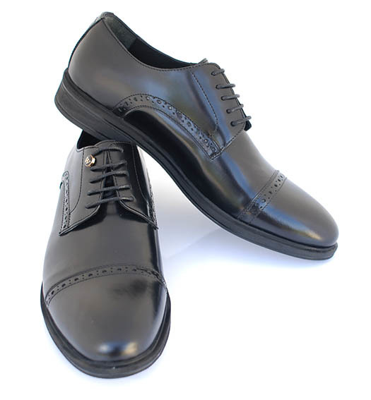 Brogue English Handmade Classic Leather Shoes (Jasper