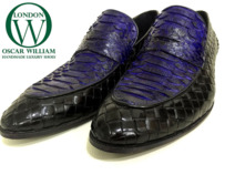 Classic Handmade Luxury Original Snake Shoes (Pembroke Square) thumbnail image