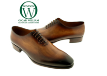 Classic Whole Cut Shoe (William) Handmade Oxford Luxury Shoe Manufacturer thumbnail image