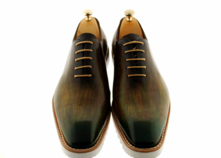 Men Handmade Sneaker (Ronnie) Oxford  Classic Footwear  thumbnail image