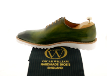 Men Luxury Sneakers (Ronnie) Handcrafted Classic Oxford thumbnail image