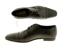 Luxury Handmade Shoes (Windsor) Snake Embossed Derby thumbnail image