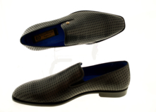 Classic Luxury Shoes (Abelino) Slip On With Punches Leather thumbnail image